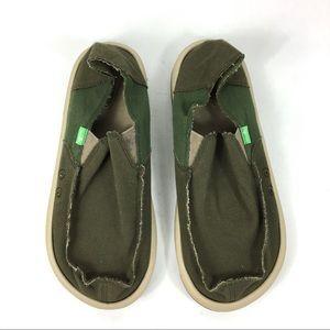 Sanuk Vagabond Chill Loafer Shoes Mens Size 8